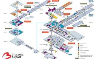 Аэропорт Брюсель: как добраться. Информация для туристов