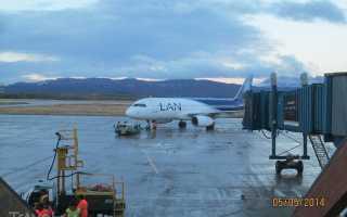 Аэропорт Ушуайя: как добраться. Информация для туристов
