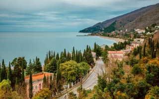 Особенности жизни в Абхазии в 2020 году