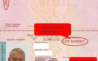 Номер и серия загранпаспорта: где можно посмотреть