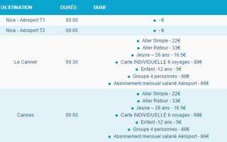 Аэропорт Ницца: как добраться. Информация для туристов
