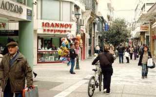 Уровень жизни в Греции в 2020 году