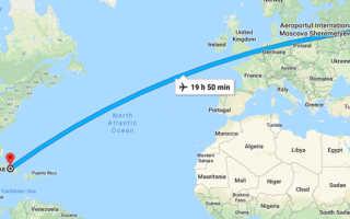 Сколько лететь до Амстердама из Москвы прямым рейсом и с пересадкой по времени