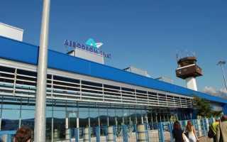 Как добраться из аэропорта Тиват в город на транспорте