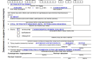 Получение паспорта в 14 лет: пакет документов