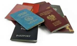 Образец заполнения уведомления о наличии второго гражданства