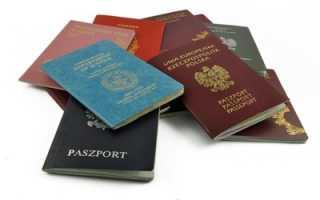 Уведомление о наличии у гражданина РФ иного гражданства по образцу