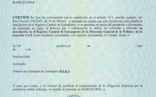 Как получить NIE в Испании