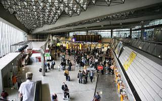 Аэропорты Германии на карте, список аэропортов Германии