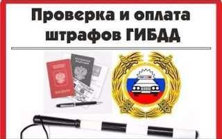 Проверка штрафов ГИБДД по водительскому удостоверению: онлайн