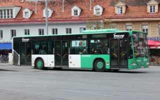 Автобусы и транспорт из аэропорта Грац в центр. Австрия