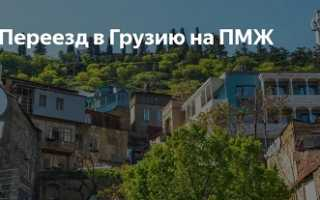 Переезд на ПМЖ в РФ из Грузии