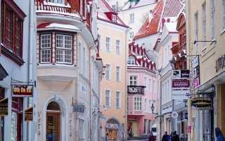 Уровень жизни в Эстонии в 2020 году
