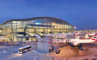 Аэропорты Великобритании. Список аэропортов Великобритании
