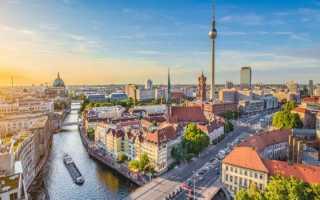 Сколько лететь до Берлина из Москвы прямым рейсом по времени