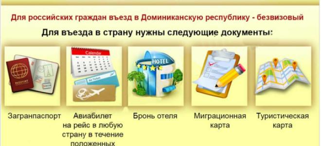 Нужна ли виза в Доминикану для россиян?