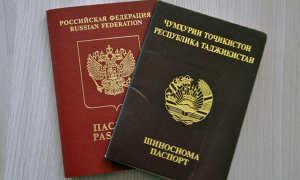 Двойное гражданство России с Таджикистаном в 2020 году