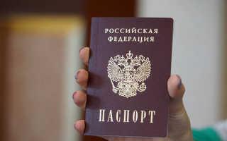Справка о ранее выданных паспортах в 2020 году